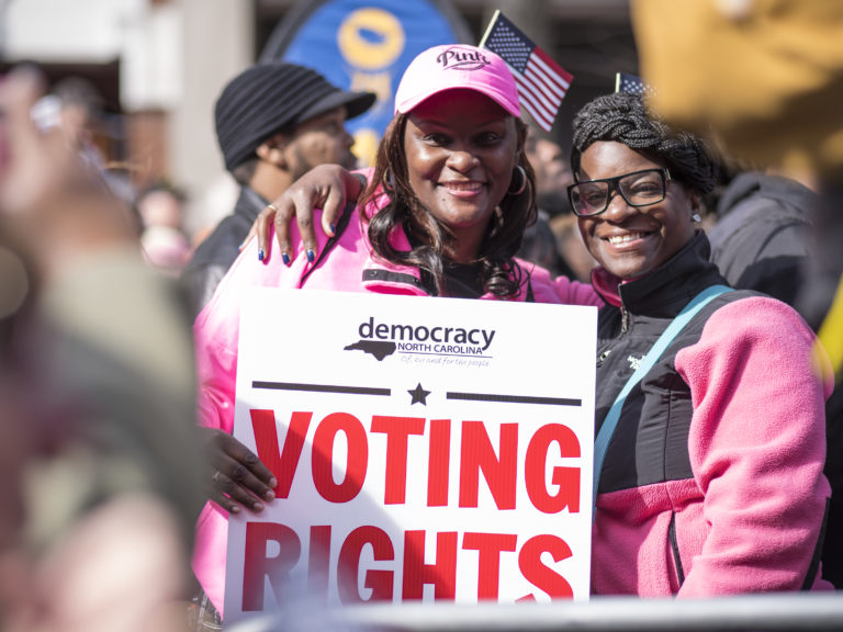 North Carolina women will be taking their power to the polls in 2018.